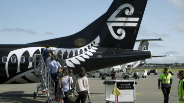 Starting from October next year, Air NZ will fly three non-stop Auckland-New York services a week.