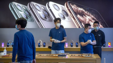 """For all its work to change investors' perception, Apple remains """"the iPhone company."""""""