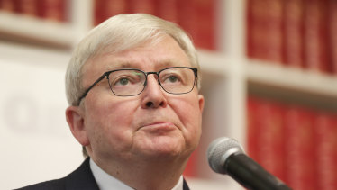 Former prime minister Kevin Rudd was deposed a decade ago.