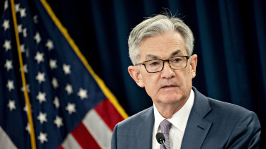 "US Federal Reserve chairman Jerome Powell said that until the public is confident the disease has been contained, ""a full recovery is unlikely."""