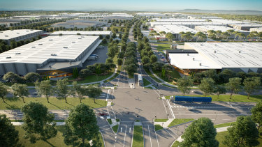 Kaufland will build a $459 million distribution centre in Merrifield Business Park.