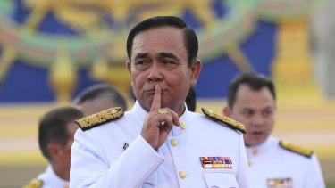 Thai Prime Minister Prayut Chan-o-cha last year.