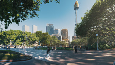Scentre and Cbus Property have lodged plans to transform 77 Market Street, Sydney, into luxe retail and apartments.