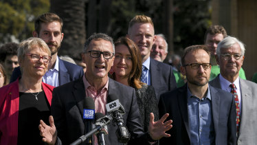 "Greens leader Richard Di Natale said the Senate is ""going to be critical""."