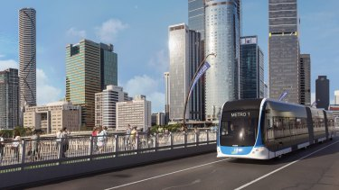 The Brisbane Metro increased in cost from $944 million to $1.2 billion earlier this year.