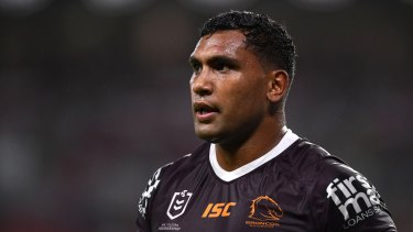Tevita Pangai jnr is hoping to salvage his deal at Brisbane.