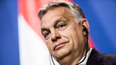Viktor Orban, Hungary's prime minister.