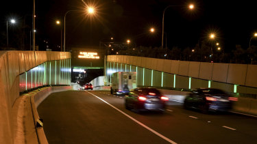 Traffic flows have evaporated across all of Transurban's tollroads.