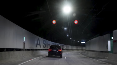 Fewer cars have been using Transurban's roads due to the COVID-19 pandemic.
