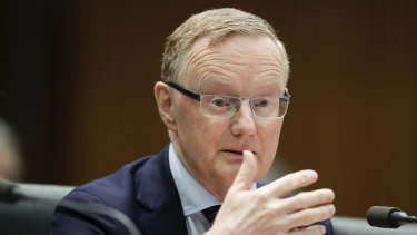 """RBA governor Philip Lowe says negative interest rates in Australia are """"extraordinarily unlikely""""."""