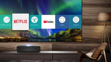 The Series L features the same smarts as Hisense's other TVs.