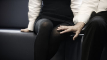 Young people are staying silent about sexual harrassment at work.
