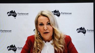 Forterscue Metals CEO Elizabeth Gaines.