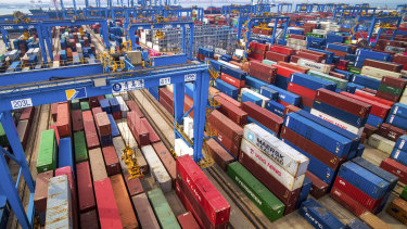 The proposed tariff relief won't apply to China's exports.