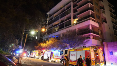Owners and tenants of units in Mascot Towers were evacuated in June last year.