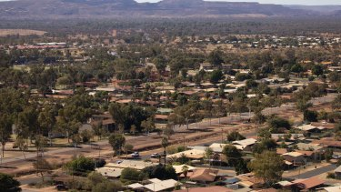 Property prices in Newman boomed before losing up to 80 per cent of their value.