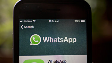 The man and the woman were engaged in a messaging thread on WhatsApp before she allegedly sent unsolicited child abuse material.