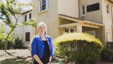 Susan Proctor's commercial rates are 10 times higher than her neighbouring residential building.