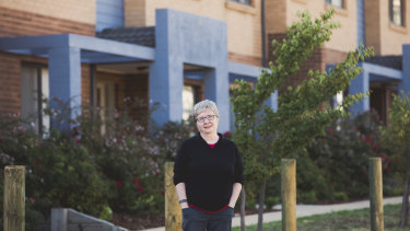 Krishna Sadhana rents out her investment property to disadvantaged people in Canberra.