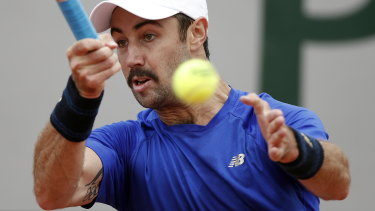 Australian Jordan Thompson has reached the French Open third round, his best result at a major tournament.