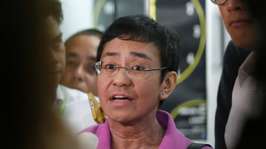 Maria Ressa, CEO of Rappler.