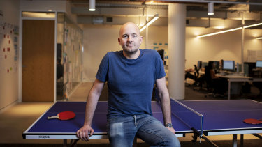 Vincent Turner, the founder and chief innovation officer of Uno Home Loan, chose Surry Hills for his start-up company.