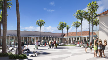 The heritage-listed pavilion was built in the 1920s. Plans for its refurbishment have been controversial.