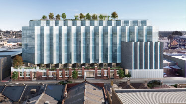 "CostaFox has sold its Cremorne office development ""off the plan"" to Bayley Stuart Capital for $50 million."