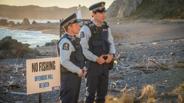 Clueless cops on the beat in the deadpan comedy Wellington Paranormal.