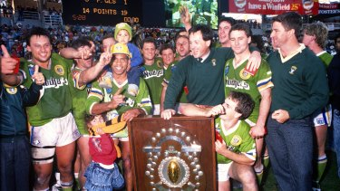 The 30th anniversary of the Raiders' maiden premiership is driving the team this year.