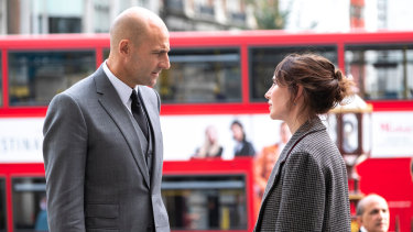 Mark Strong as Daniel in Temple.