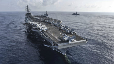 The aircraft carrier could stay at sea without refuelling for 20 years - and wage war on most countries single-handedly.