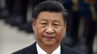 Ignoring physics: Chinese President Xi Jinping.