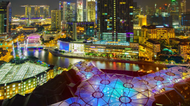 Singapore was chosen as the first flagship store.