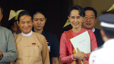 Myanmar has a new president, but he is still number 2