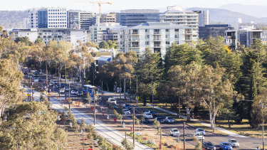 Northbourne Avenue is set to be transformed in the coming years on the back of the light rail project.