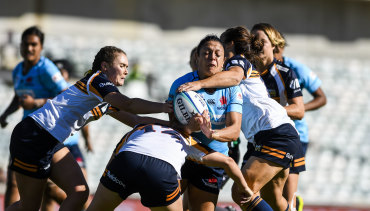 The Waratahs beat the Brumbies in the Super W season-opener at Canberra Stadium.