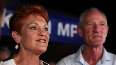 Pauline Hanson is tipped to have less of an impact on the 2020 state election than she did in 2017, when One Nation picked up one seat.