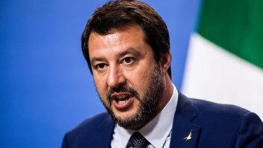 Matteo Salvini, Italy's deputy prime minister.