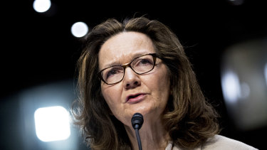 Missed briefing: Gina Haspel, director of the CIA.