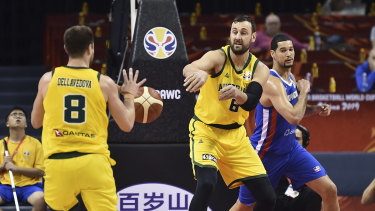 As well as the NBL playoffs which start next week, Bogut is also preparing to play a vital role for the Boomers in the Olympics.