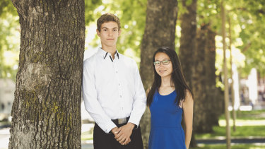 Narrabundah College students Aleksandar Rapajic and Joanne Ng have both achieved the top ATAR rankings in the ACT of 99.95.