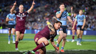 State Of Origin in rugby league is a very big deal.