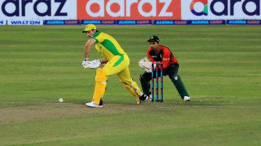 The Aussies struggled in Bangladesh.