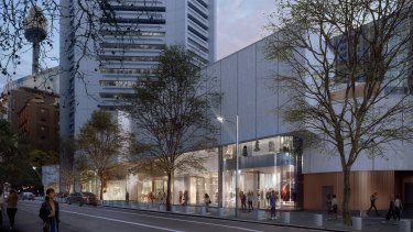"Part of the new retail offering will be ""new luxury and premium"" retail in Castlereagh and King streets."