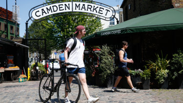 Londoners have been basking in sunny weather lately. Outdoor markets and car showrooms were allowed reopen on June 1.