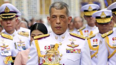 Coronation: Thai King Maha Vajiralongkorn.
