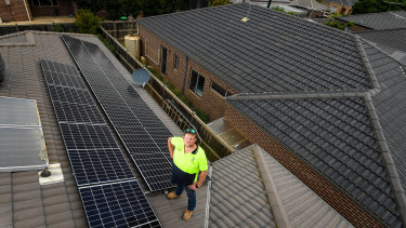 Matt Pilsbury switched on his new $8200 solar system. But he, like thousands of others across Melbourne, are being told by energy distributors they will not get a cent for any excess power provided to the energy network.