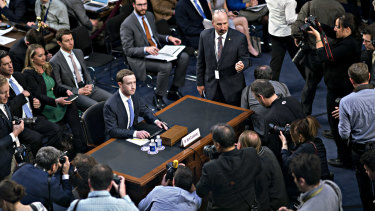 Facebook founder and CEO Mark Zuckerberg  spent about 10 hours answering to US Senate and House politicians in April last year.