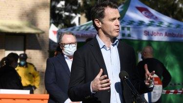 NSW Labor leader Chris Minns.